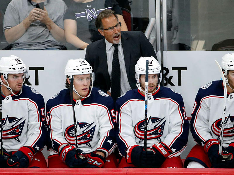 Columbus Blue Jackets John Tortorella head coach