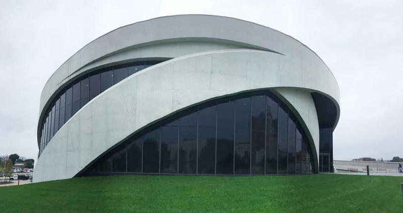 The new National Veterans Memorial And Museum.