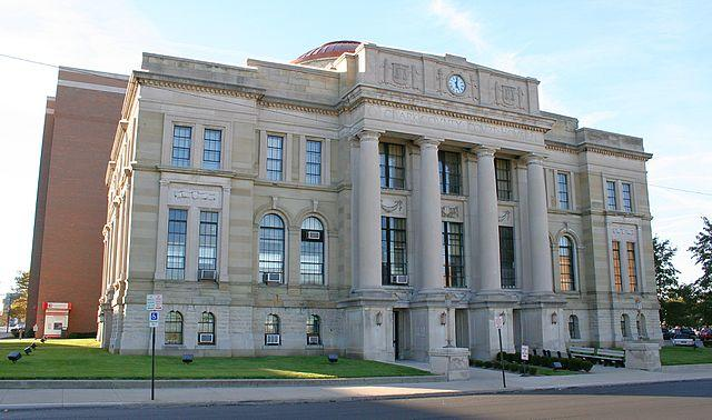 Clark County courthouse in Springfield, Ohio.