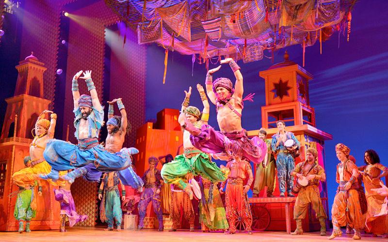 From the Arabian Nights scene in Disney's Aladdin on Broadway