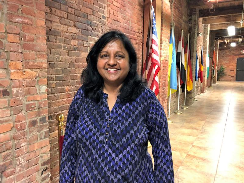 Radhika Reddy, the founder of the Ariel Center in Cleveland, immigrated to Ohio in 1989.