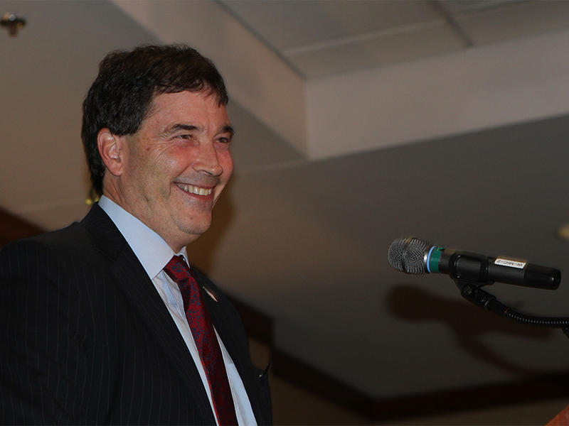 Republican Troy Balderson was re-elected to the Ohio 12th Congressional seat on Tuesday.