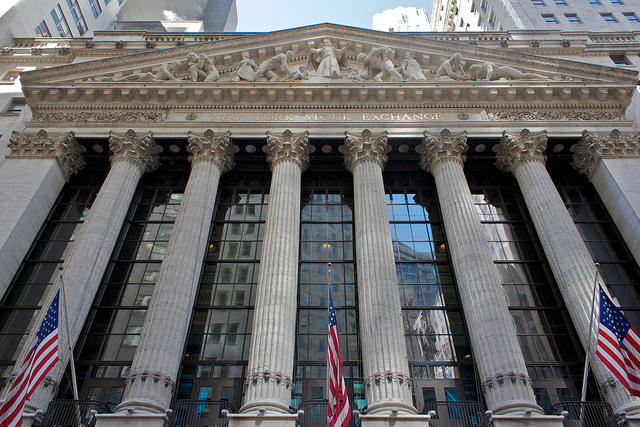 The New York Stock Exchange, March 2012.