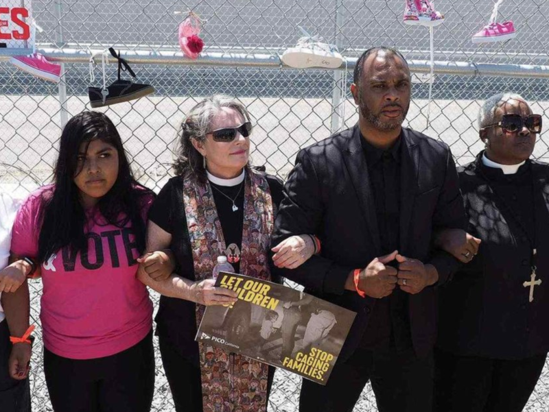 An immigrant-rights vigil will be held at the Butler County Correctional Complex, part of which is contracted to ICE.