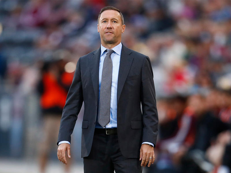 New Columbus Crew head coach Caleb Porter has coached the Portland Timbers and the University of Akron.
