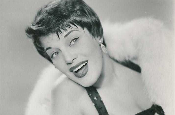 Kaye Ballard in the late 1950s