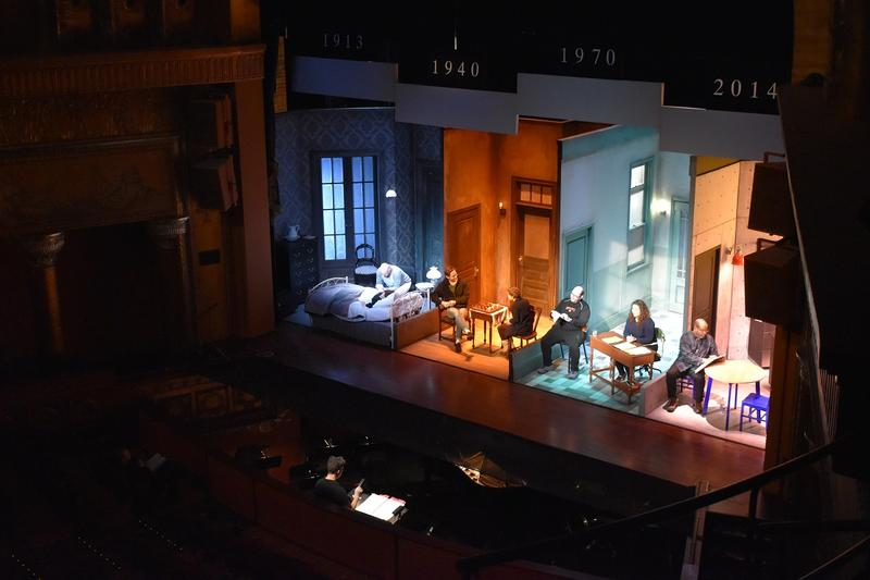 A scene from The Flood, a new original opera set in Columbus, presented by Opera Columbus and ProMusica Chamber Orchestra