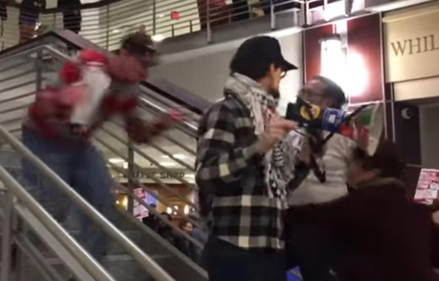 Speaker Tackled During Anti-Trump Rally At OSU Student Union