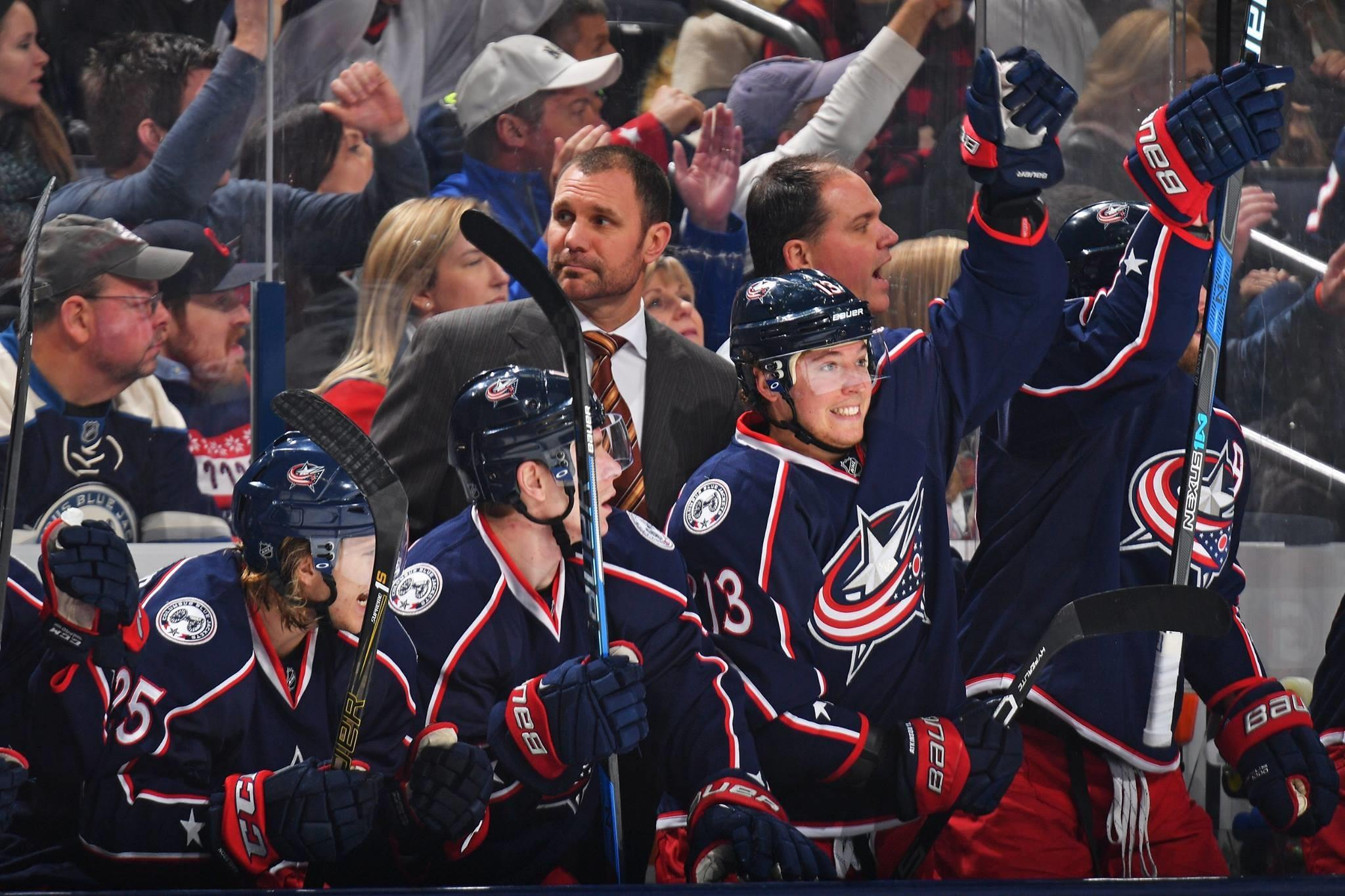 Blue Jackets Hope Record Season Leads To First Playoff Series Win ...