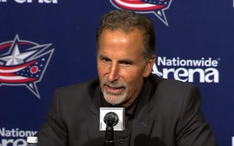 Tortorella Leaves Blue Jackets for Family Emergency