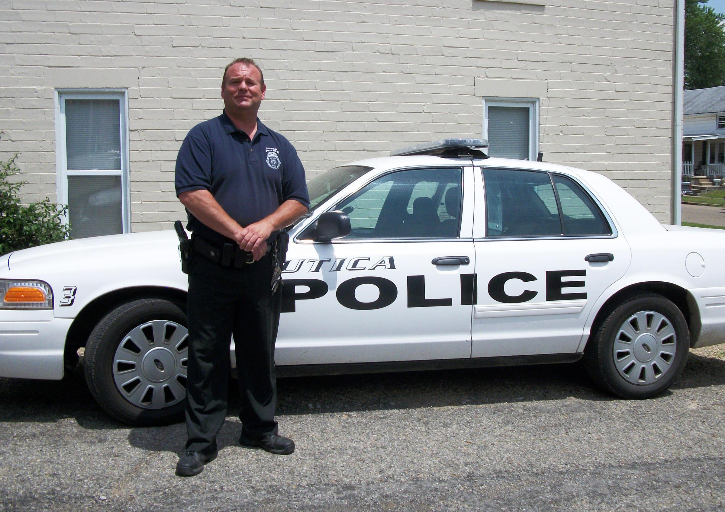 Chief Clifford Bigler runs the Utica Police