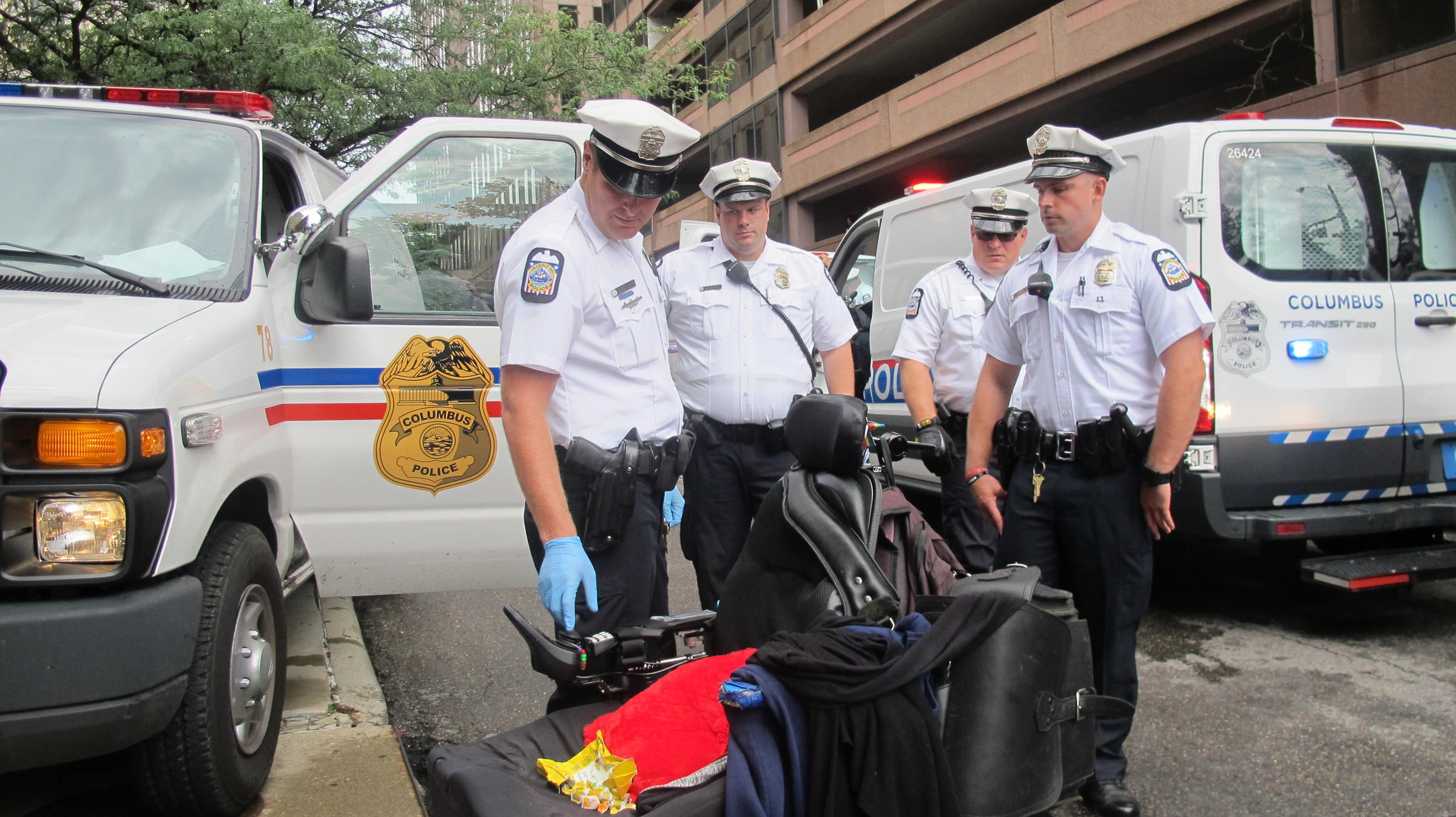 Disability Rights Protesters Arrested At Portman's Office ...