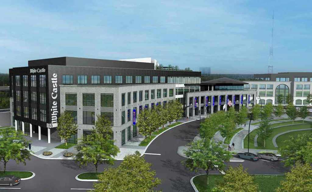 corporate home office. The Proposed Corporate Headquarters For White Castle Will Replace Its Existing Home Office On West Goodale Street.