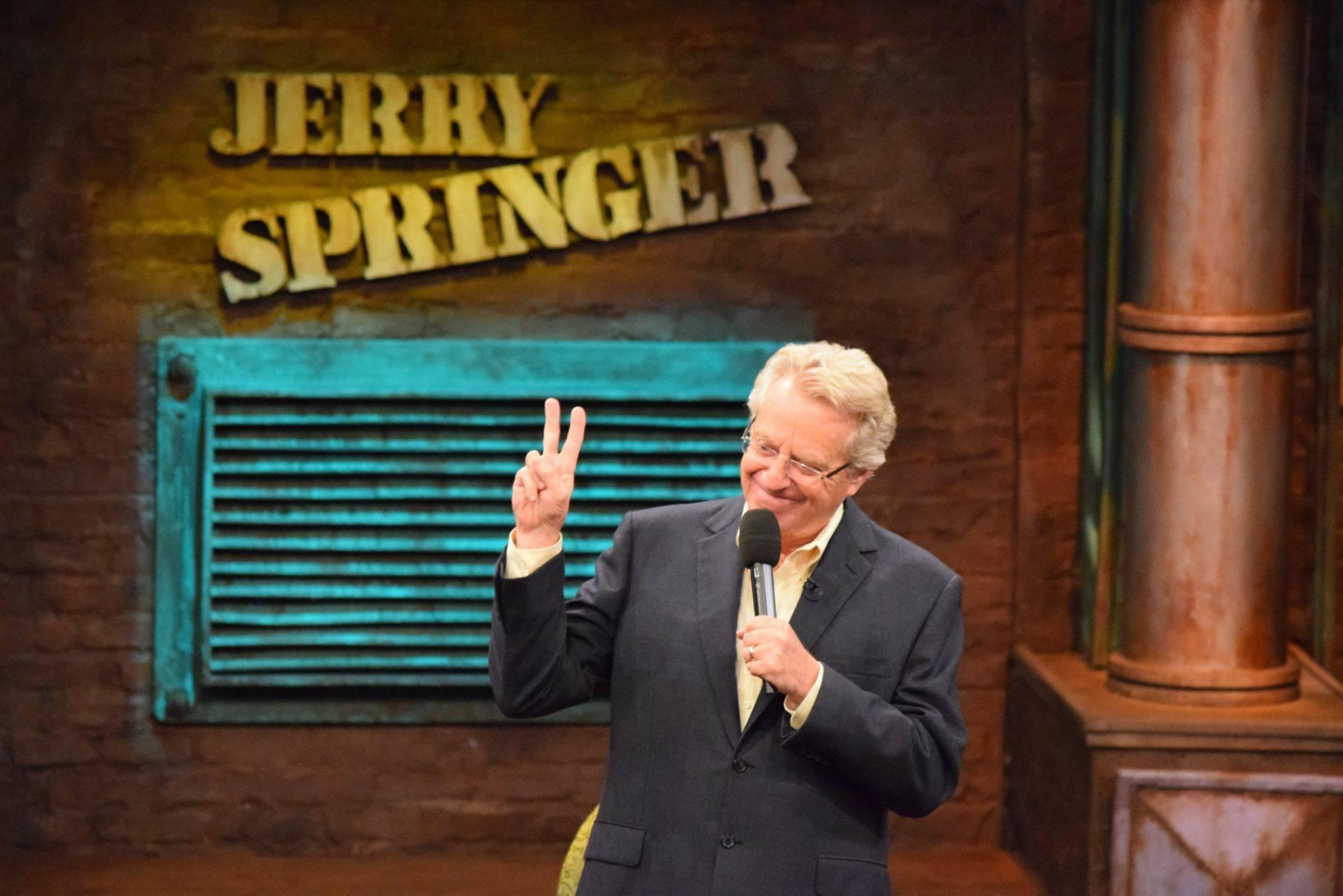 Jerry Springer announces decision on running for OH governor