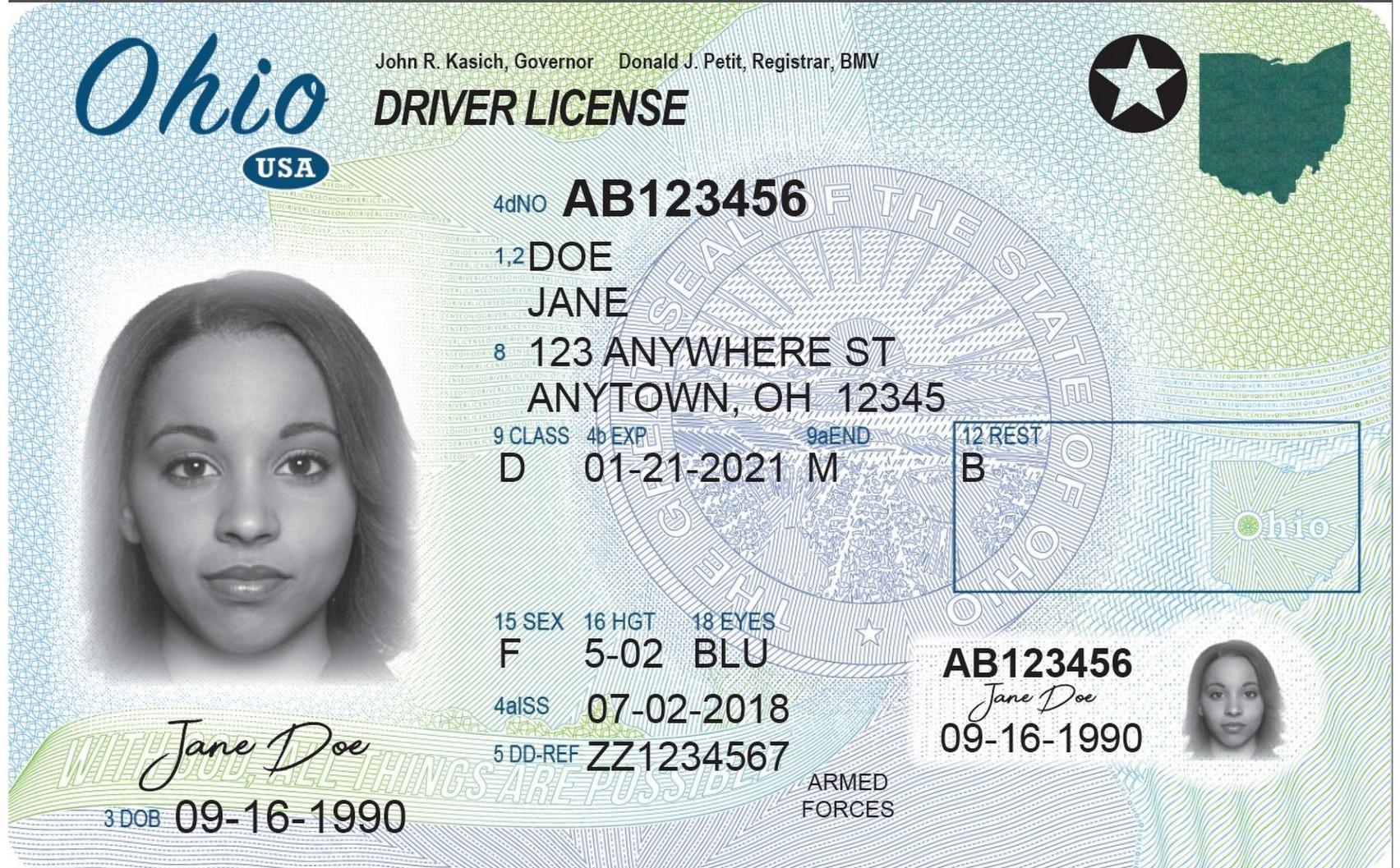 Wosu New The Driver's Sends Through Mail Now Ohio Radio Licenses
