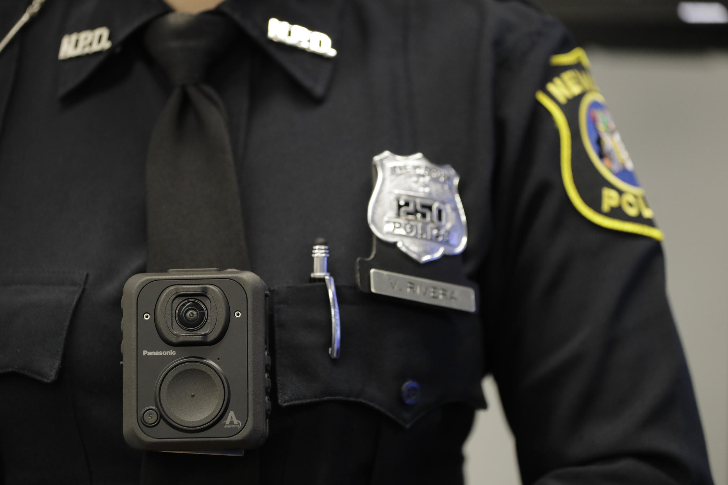 Columbus Police Meet Goal For Equipping Officers