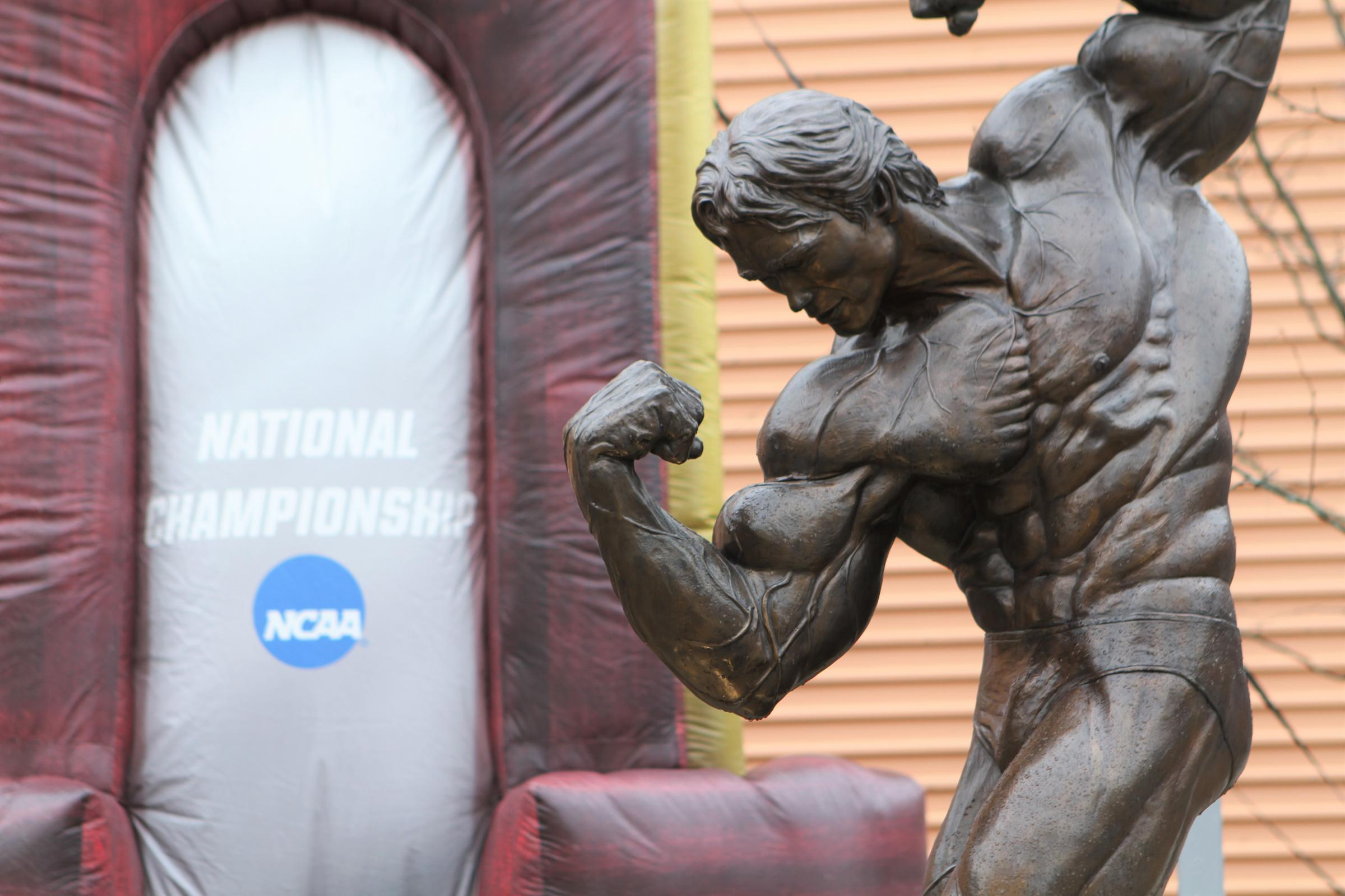 Downtown Columbus is playing host to the NCAA Women's Basketball Final Four this weekend