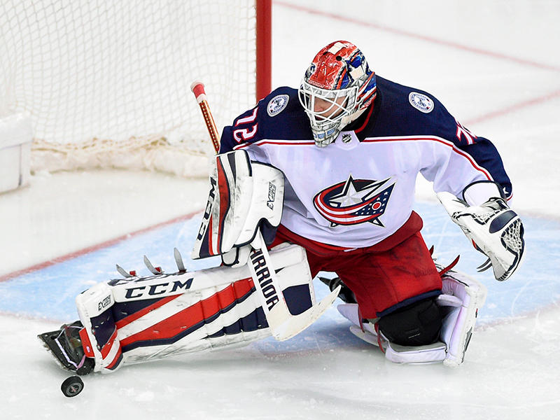 Philipp Grubauer remains the starter for Game 2