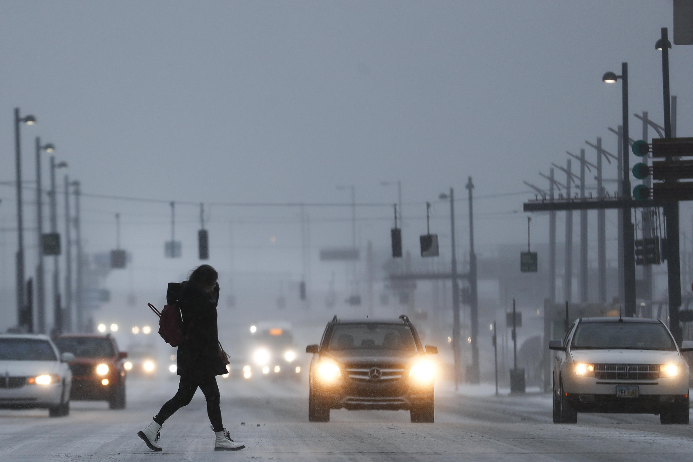 Arctic freeze warms after leaving 21 dead READ MORE