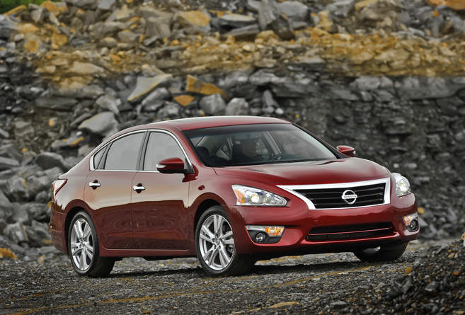 The Altima has long been Nissan's best seller. The sedan set a sales record in 2014.