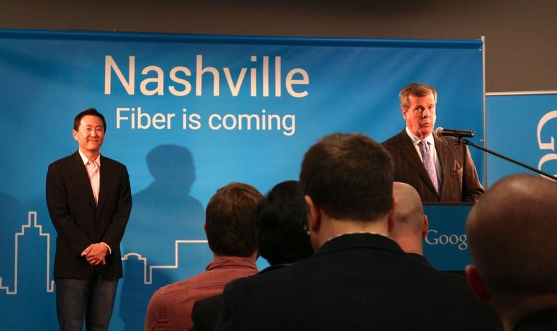 Google announced it was expanding to Nashville in January. It will be offering some low-income residents free service.