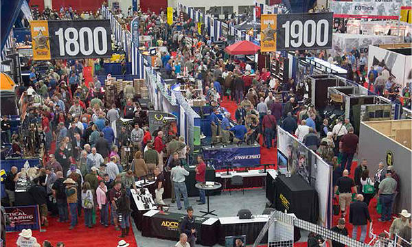 The NRA's annual meeting draws roughly 75,000 attendees. It will be the largest convention held in Nashville's new convention center.