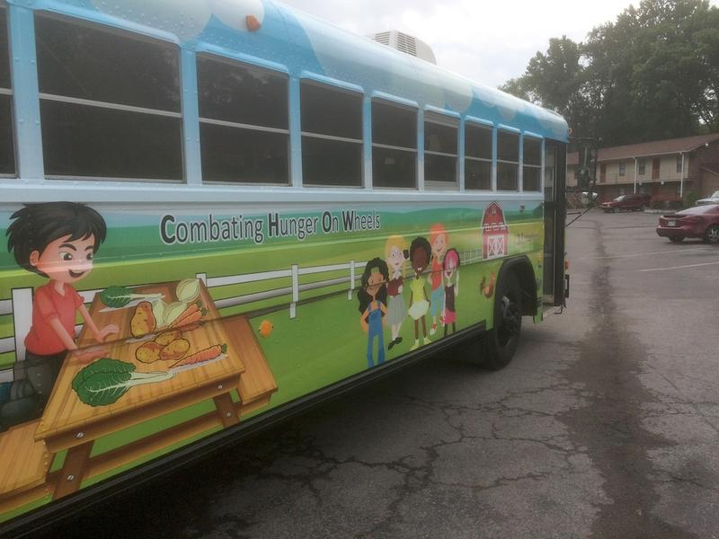 "Murfreesboro City Schools launched the ""CHOW Bus"" in 2014 and added a second bus this year."
