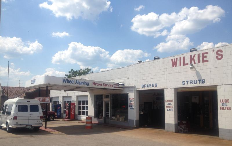 Wilkie's Fast Lane opened its auto repair shop and now-defunct gas station at this location on Charlotte Avenue in 1960. It's next door to M.L. Rose — a craft beer bar that took over the building of another auto repair shop.