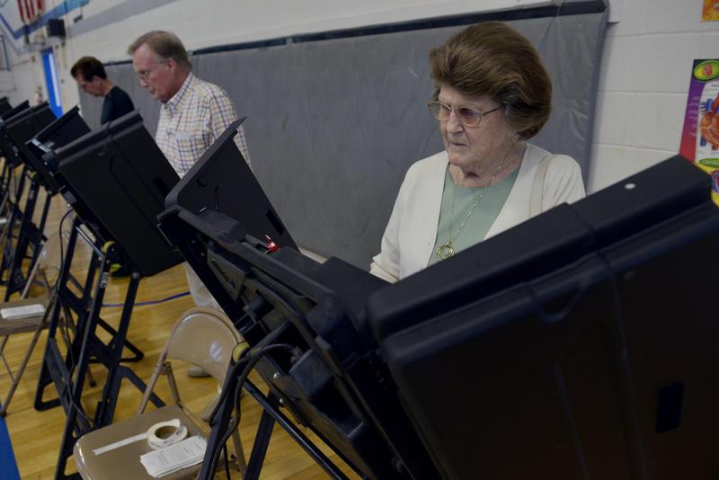 Nashville polling place