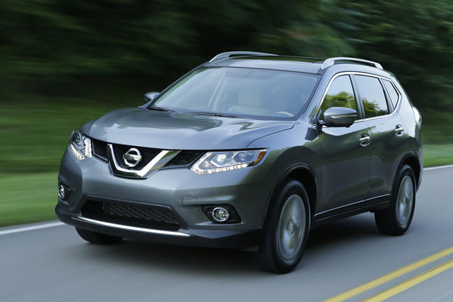 The Smyrna-made Nissan Rogue has become one of Nissan's best sellers.