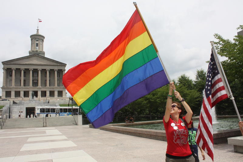 Tennessee gay marriage celebration