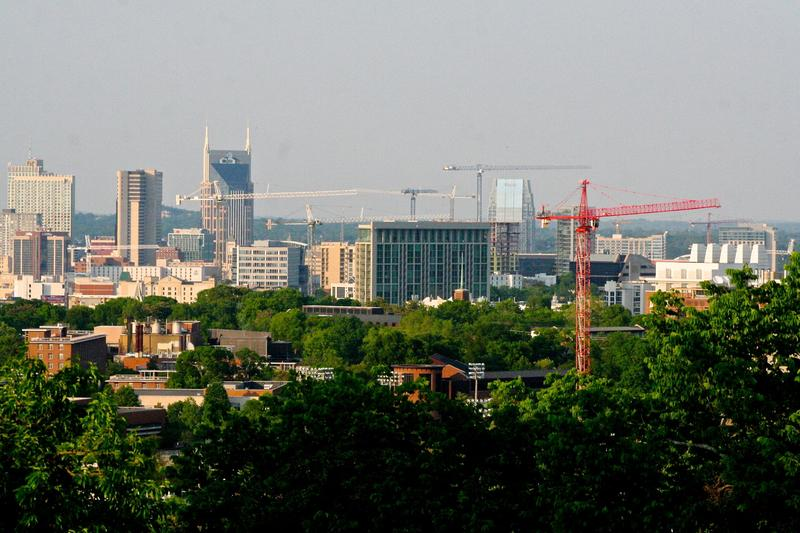 Construction in Nashville is still booming, but the overall number of permits is down.