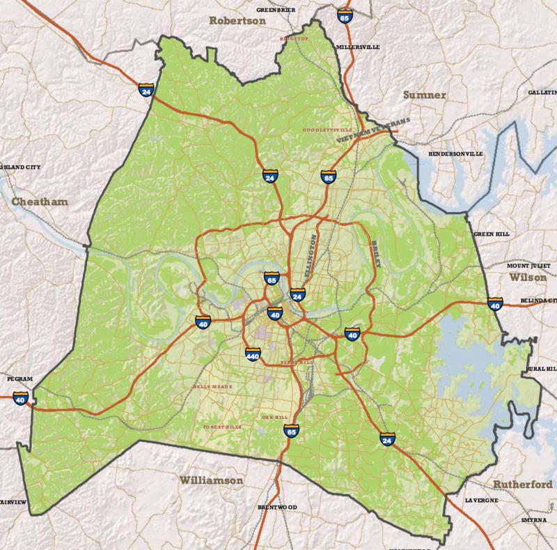 NashvilleNext land use plan