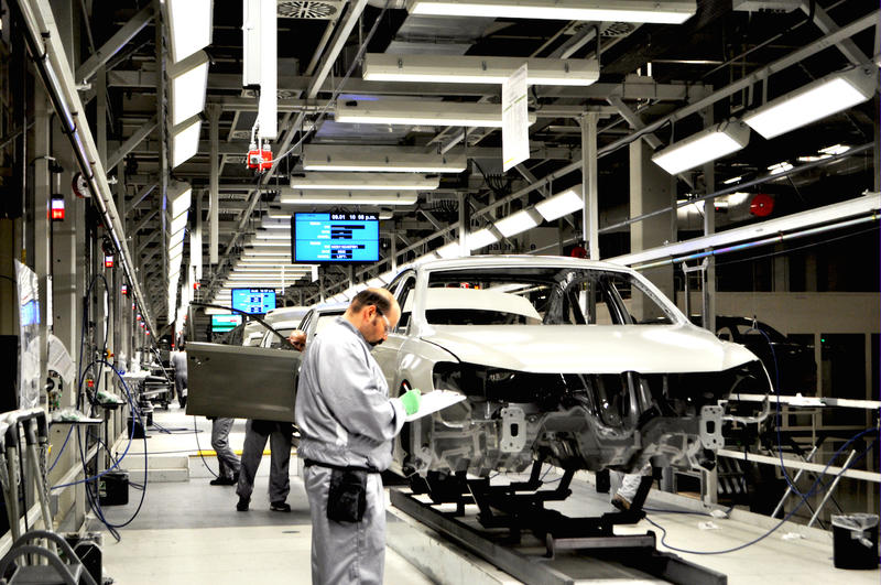 Volkswagen's Chattanooga plant employs roughly 1,500 hourly workers and builds the Passat, including gasoline and diesel models. The plant is also being expanded to build a new SUV.