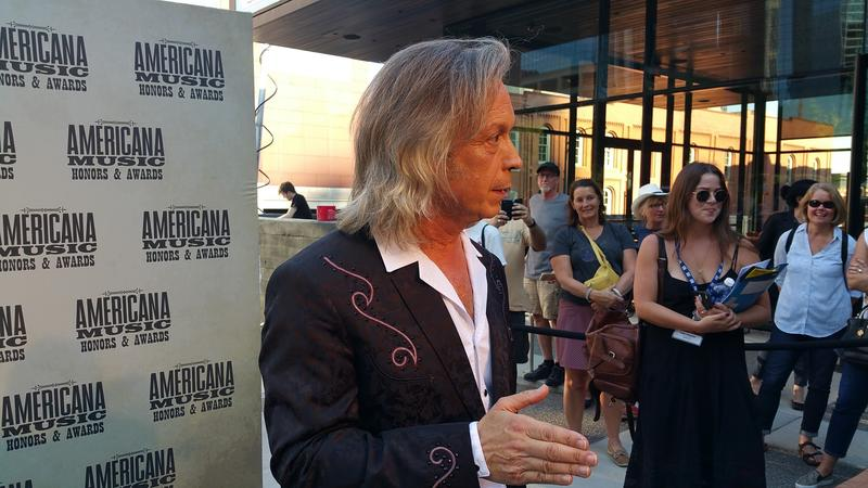Jim Lauderdale hosted the three-hour Americana Awards show Wednesday night at Ryman Auditorium in Nashville.