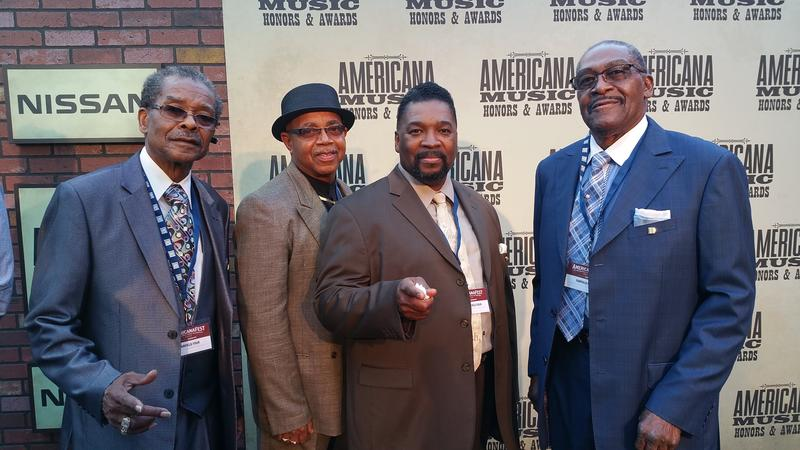 Gospel group Fairfield Four performed during the Americana Awards Show.