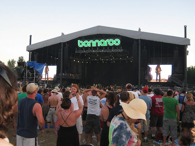 The music festival Bonnaroo brings a huge boost of tourism to an otherwise low-population county.