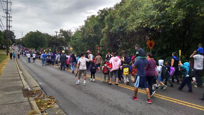 Walk To School Day Nashville