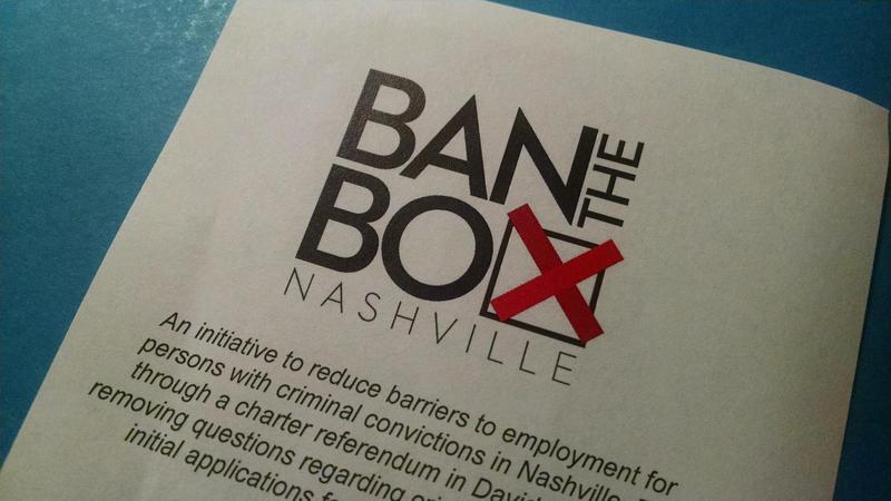 Ban the Box Nashville