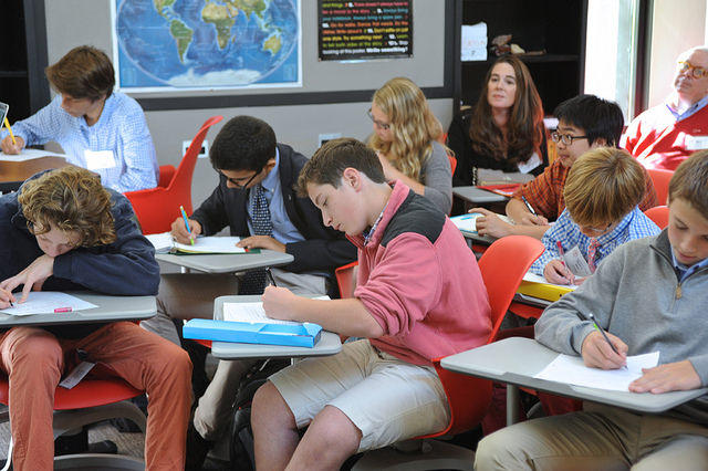 High school students used to almost all pass the social studies of state testing, but not anymore.