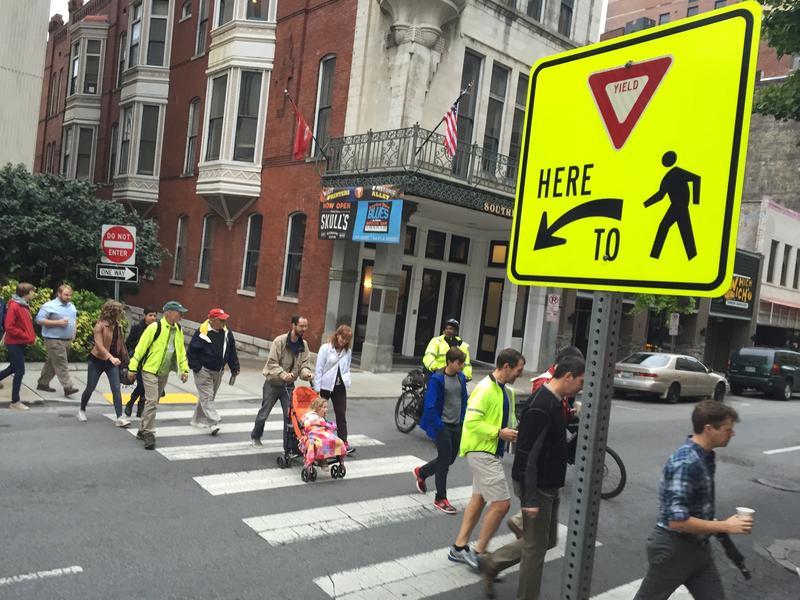 Nashville sidewalks