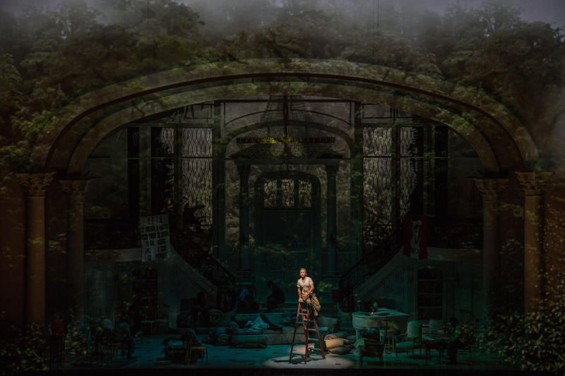 Lyric Opera commissioned the opera about five years ago. It had its world premiere in early December 2015.