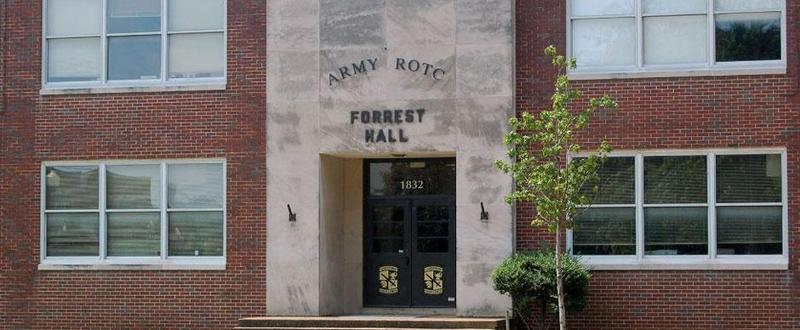 """If MTSU gets approval, Forrest Hall would be renamed the """"ROTC Building."""""""