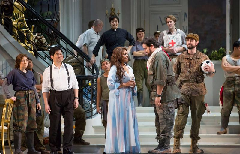 A scene from Bel Canto, an opera based on Ann Patchett's novel, at the Lyric Opera of Chicago.