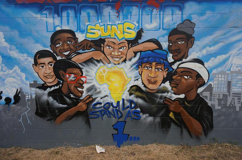 Mural by Michael Mucker
