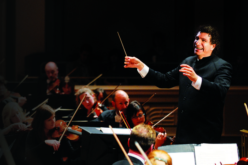"""Giancarlo Guerrero often compares conducting the Nashville Symphony to """"driving a Ferrari,"""" thanks to the musicians' level of skill."""