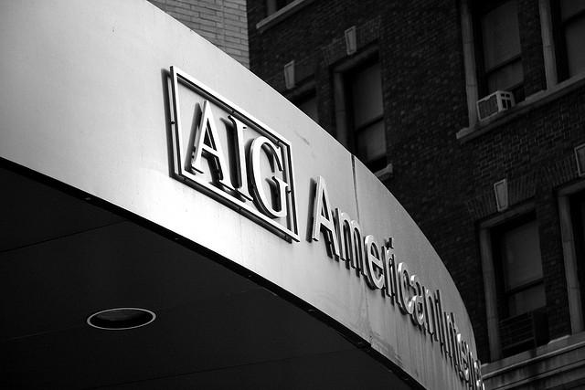 AIG employs about 65,000 people worldwide.