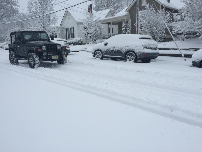 Nashvile snow