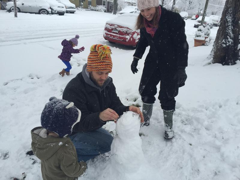first snowman Nashville