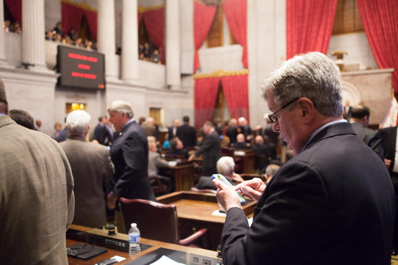 Oak Ridge Republican Randy McNally is the state Senate's longest-serving member.